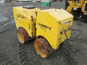 2012 Rammax 1510-CI Articulated Trench Roller