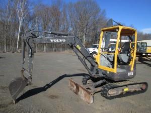 2012 Volvo ECR38 Mini Excavator