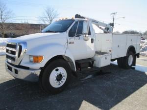 2006 Ford F-650 XL Super Duty Service Truck