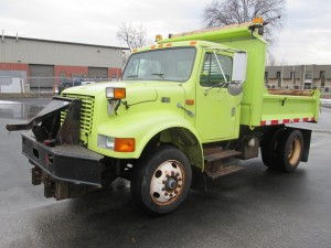 1998 International 4700 Single Axle Dump Truck