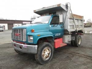 1994 GMC Topkick Single Axle Dump Truck
