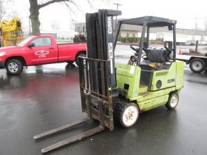 Clark GCS25MB Propane Powered Forklift