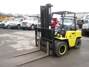 Clark C500YS80 Propane Powered Forklift