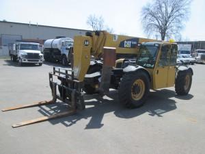 2010 Caterpillar TL1055 Telescopic Forklift