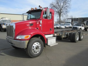 2008 Peterbilt 340 Tandem Axle Cab and Chassis