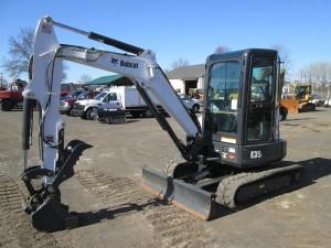 2014 Bobcat E35i Mini Excavator