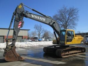 2005 Volvo EC240BLC Hydraulic Excavator