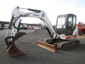 2007 Bobcat 335G Mini Excavator