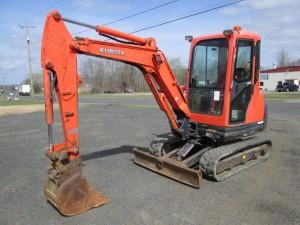 2011 Kubota KX71-3S Mini Excavator