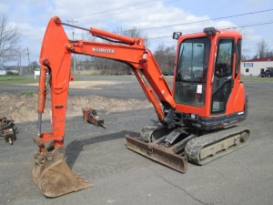 2012 Kubota KX71-3S Mini Excavator
