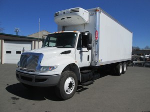 2009 International 4400 Refrigerated Box Truck