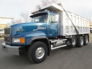 1998 Mack CL713 Triaxle Dump Truck