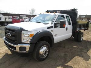2011 Ford F-550 XL Super Duty Dump Truck