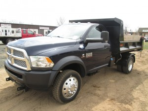2013 Dodge Ram 5500 Dump Truck