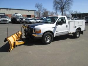 2000 Ford F-350 Utility Body Truck