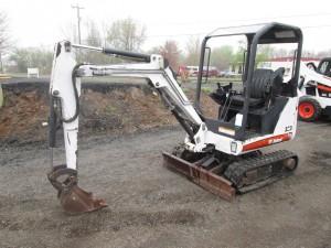 2008 Bobcat 323 Mini Excavator