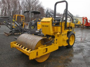 Ingersoll Rand SD40F Smooth Drum Vibratory Roller
