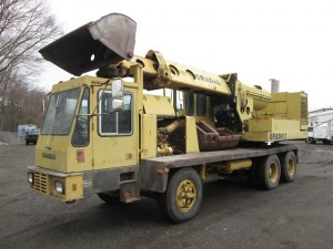 1987 Gradall 660C Wheeled Excavator