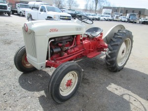 1954 Ford Golden Jubilee Tractor