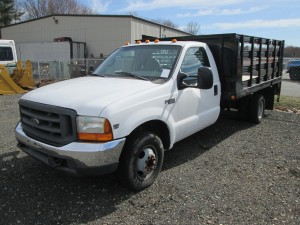 1999 Ford F-350 Super Duty Flatbed Truck