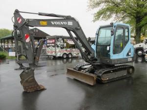 2005 Volvo EC55B Midi Excavator