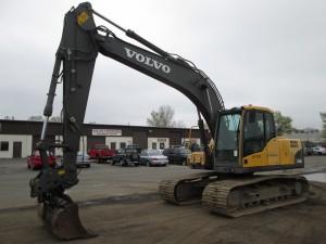 2009 Volvo EC160CL Hydraulic Excavator
