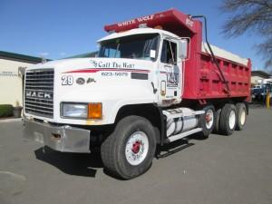 1997 Mack CL713 Triaxle Dump Truck