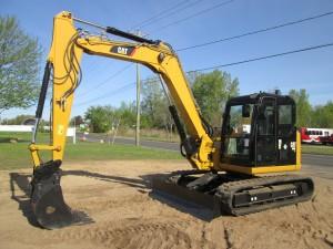 2014 Caterpillar 308E CR Hydraulic Excavator