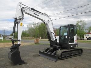 2012 Bobcat E80 Hydraulic Excavator