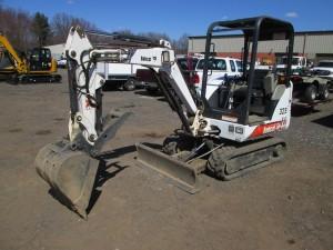 2002 Bobcat 325D Mini Excavator
