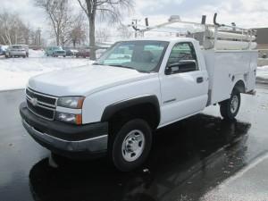 2006 Chevrolet 2500HD Utility Body Truck