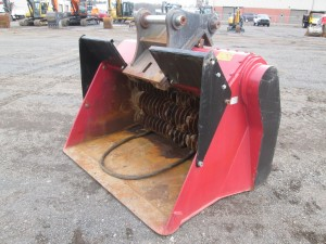 2007 ALLU SM3-17 Excavator Crusher Bucket