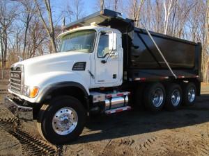 2005 Mack Granite CV713 Tri/A Dump Truck