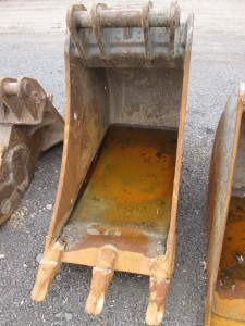 "Geith 24"" Excavator Bucket With Teeth"