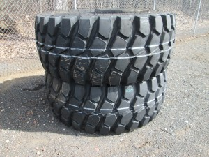 (2) Titan 29.5R25 Radial Tires