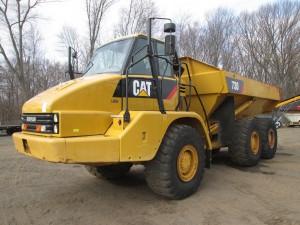 2009 Caterpillar 730 Articulated Haul Truck