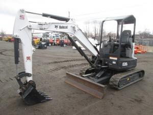 2016 Bobcat E35i Mini Excavator