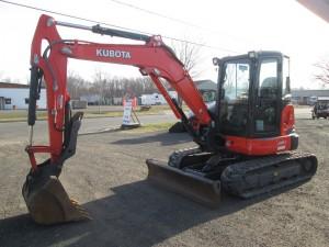 2016 Kubota U55-4 Mini Excavator