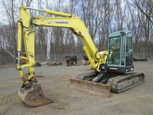2007 Yanmar ViO75 Midi Excavator