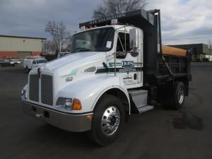 2003 Kenworth T300 S/A Dump Truck