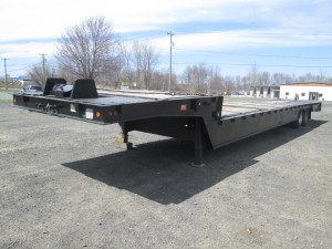 2006 Trail Eze Folding Tail Recovery Trailer