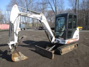 2003 Bobcat 334D Mini Excavator