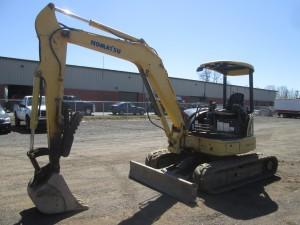 2007 Komatsu PC50MR-2 Mini Excavator