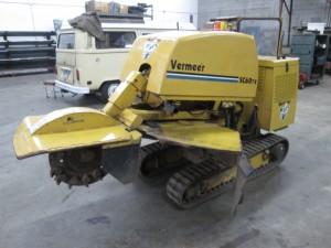 2004 Vermeer SC60TX Track Stump Grinder