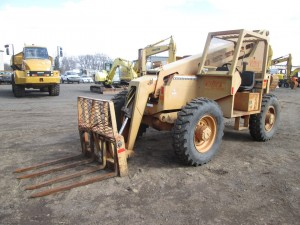 1994 Traverse Lift TLC6044 Telescopic Forklift