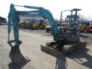 Kobelco SK35SR Mini Excavator