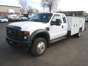 2008 Ford F-550 XL Service Truck
