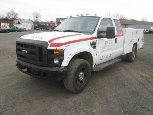 2008 Ford F-350 XL Extended Cab Utility Truck
