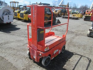 2008 Snorkel TM12 Electric Manlift
