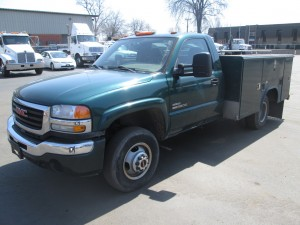 2006 GMC 3500 Utility Body Truck